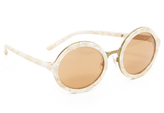 3.1 Phillip Lim Round Mirrored Sunglasses
