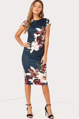 Girls On Film Outlet Print Bodycon Dress