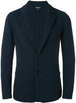 Giorgio Armani textured blazer - men - Cotton/Polyamide/Spandex/Elastane - 46