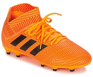 adidas NEMEZIZ 18.3 FG J boys's Football Boots in Orange