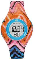 Skechers Women's 'Printed Unibody' Quartz Plastic Casual WatchMulti Color (Model: SR6109)