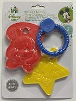 Disney Baby 3 Pc Mickey Mouse Ring Charms & Teether Set