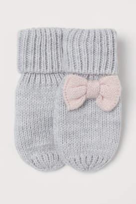 H&M Fine-knit mittens