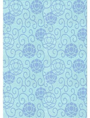 Blue Area Wool Light Rug East Urban Home Rug Size: Runner 2' x 5'