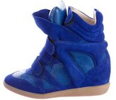 Isabel Marant Beckett Wedge Sneakers w/ Tags