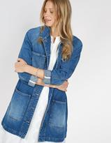 Fat Face Denim Duster Jacket