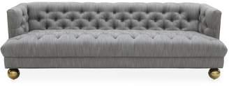 Jonathan Adler Baxter T-Arm Sofa with Ball Feet