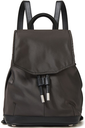 Rag & Bone Mini Pilot Leather-trimmed Shell Backpack