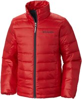 Columbia Airspace Down Jacket (Kid) - Bright Red-Medium