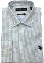 U.S. Polo Assn. Men's Thin Check Dress Shirt