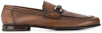 Barrett Woven Horsebit Buckle Loafers