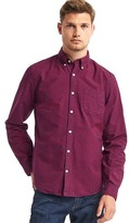 Gap Oxford gingham slim fit shirt