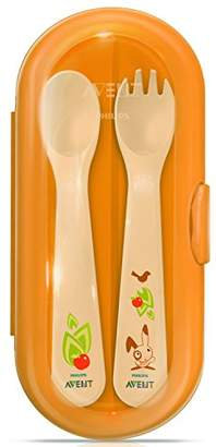 Philips SCF718/00 Cutlery Set with Travel Case for 12 Months and Above