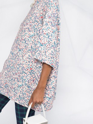No.21 Floral Print Tunic