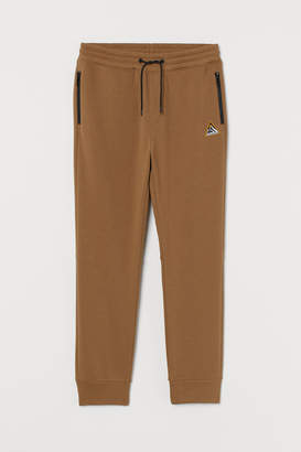 H&M Joggers with Fabric Applique