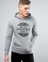 Jack and Jones Core Hoodie with Graphic Print