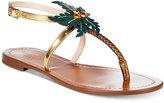 Kate Spade Solana Palm Tree Sandals