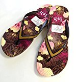 Women's Flip Flop Sandal, Size: Small ; Fits(5 - 7), Sturdy Textured Sole Provides Traction.Extra Comfort, Sleeker Straps.Firm,Comfortable Footbed With Printed Patterns.Length 25cm.