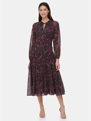 Tommy Hilfiger Essential Floral Chiffon Dress