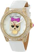 Betsey Johnson Women's BJ00019-06 Analog Skull Dial Watch