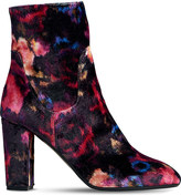 LK Bennett Pellino floral-print heeled ankle boots