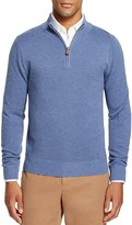 Brooks Brothers Textured Half-Zip Sweater