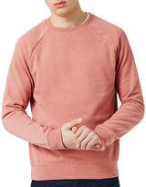 Topman Dark Pink Sweatshirt