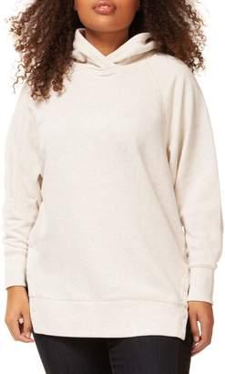 Dex Plus Hooded Cotton-Blend Sweatshirt