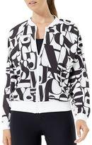 MPG Julianne Hough Abstract-Printed Vault Jacket