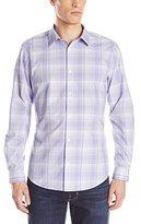 Calvin Klein Men's Cool Tech End On End Button-Front Shirt