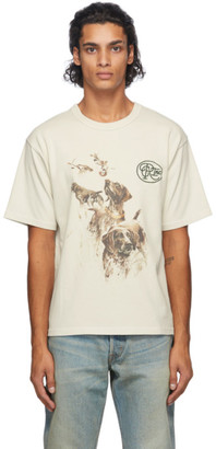 Reese Cooper Off-White Hunting Dogs T-Shirt