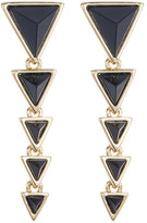 House Of Harlow Meteora Pyramid Linear Earrings