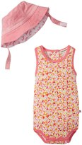 Appaman Geo Sunsuit And Sun Hat Set (Baby) - Multi - 3-6 Months