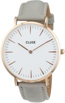 Cluse Women's La Boheme CL18015 Rose Leather Quartz Watch