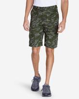 """Eddie Bauer Men's Versatrex® 11"""" Cargo Shorts - Print"""