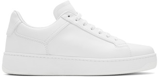 Bottega Veneta White Low-Top Sneakers