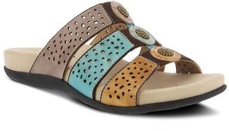 Spring Step Lartiste By L'Artiste By Women's Glennie Leather Slide Sandals