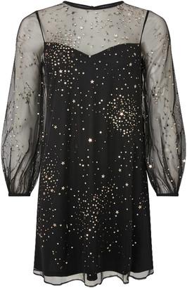 Under Armour Stefania Embellished Star Tunic Dress Black