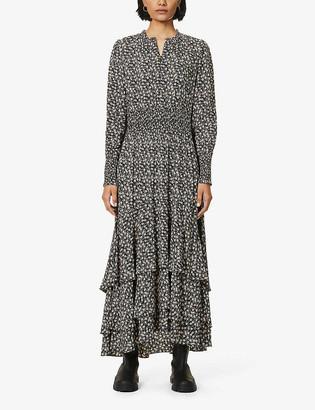Belgravia floral-print chiffon maxi dress