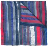 Armani Collezioni striped scarf - women - Silk/Cotton/Linen/Flax/Viscose - One Size