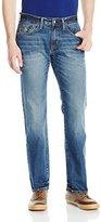 U.S. Polo Assn. Men's Slim Straight 5 Pocket Denim Jean In Medium Wash