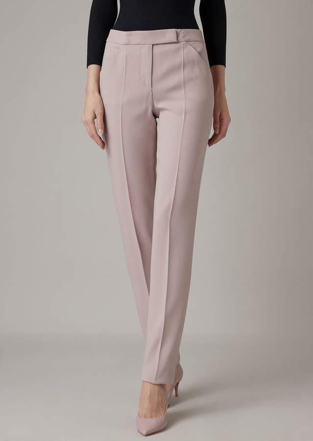 Giorgio Armani Light Wool Cigarette Pants