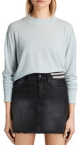 AllSaints Lotus Cropped Cashmere Sweater