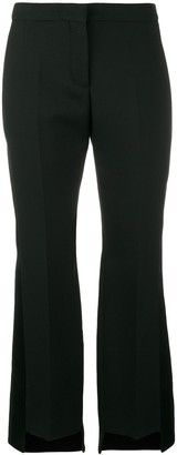 Alexander McQueen Step Hem Cropped Trousers