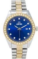 Jean Paul Gaultier Men's Quartz Metal and Alloy Watch, Color:-Toned (Model: 47333)