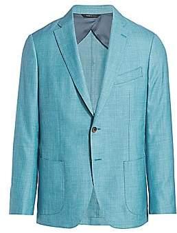 Saks Fifth Avenue Solid Twill Sport Jacket
