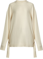 Tibi Tie-side cashmere sweater