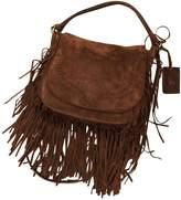 Polo Ralph Lauren Brown Suede Handbags