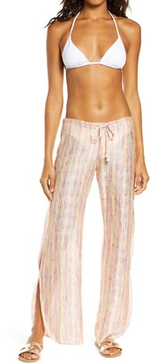 Isabella Rose Bavella Knit Cover-Up Pants