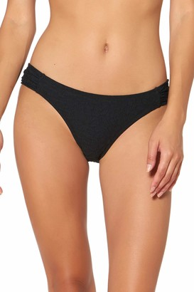 Jessica Simpson Women's Mix & Match Solid Swimsuit Separates (Top & Bottom)